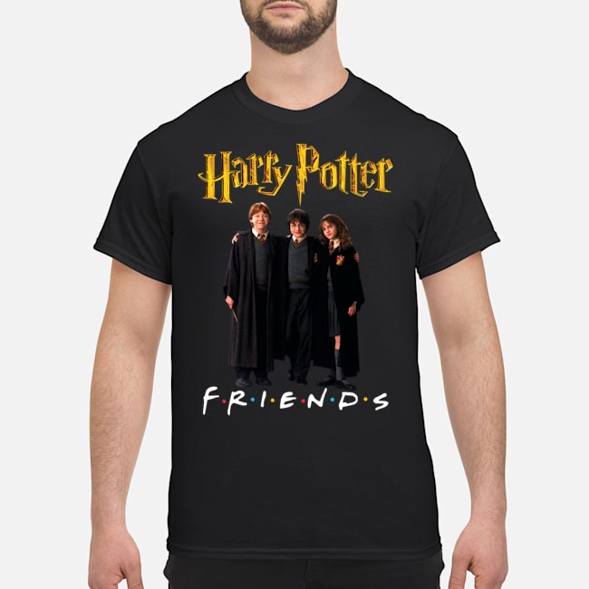 Harry Potter Hermione And Ron Weasley Friends Shirt