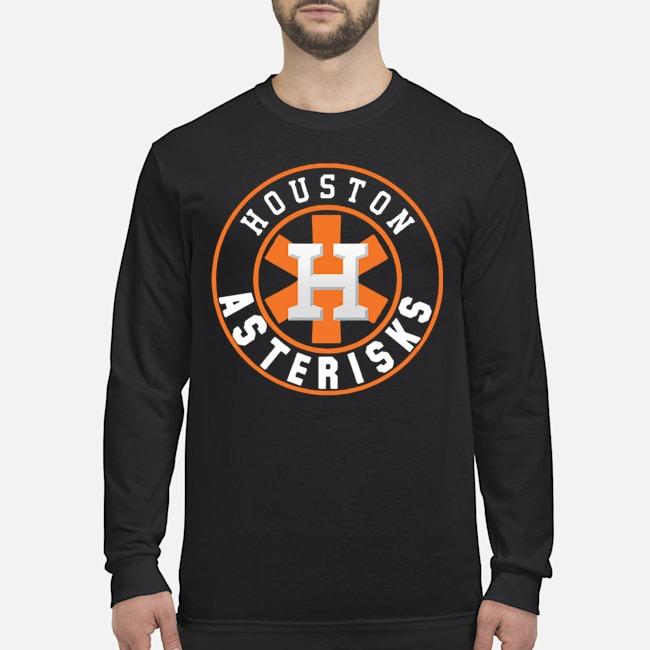 Houston Asterisks For Astros cheating 2020 Long Sleeved T-Shirt