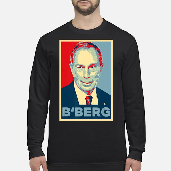 Michael Bloomberg 2020 President Election USA Long Sleeved T-Shirt