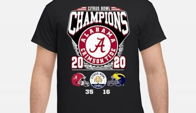 Official Alabama Crimson Tide Citrus Bowl Champions 2020 Shirt