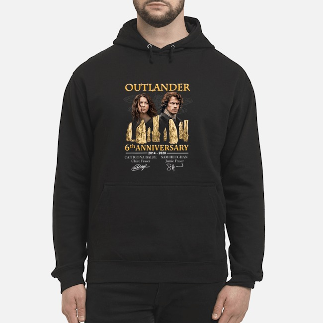 Outlander 6th anniversary 2014-2020 signatures Hoodie