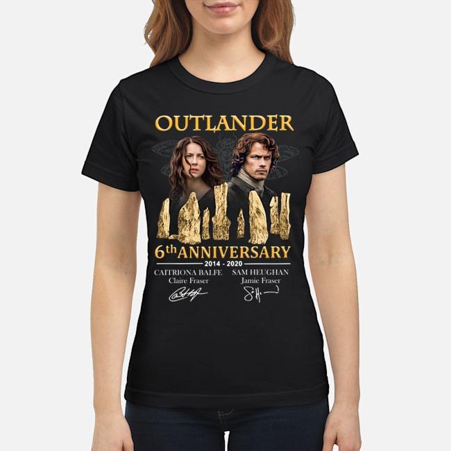 Outlander 6th anniversary 2014-2020 signatures Ladies