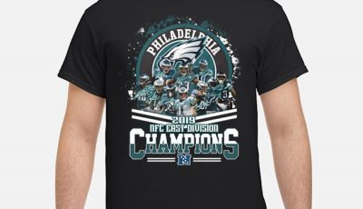 Philadelphia Eagles 2019 NFC East Division Champions Shirt