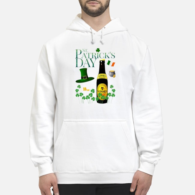 St. Patrick's Day Guinness Special Export Beer Hoodie