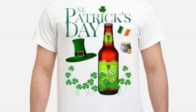 St. Patrick's Day Harp Lager Beer Shirt