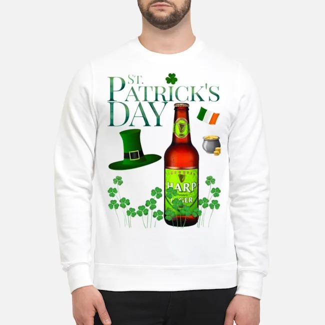 St. Patrick's Day Harp Lager Beer Sweater