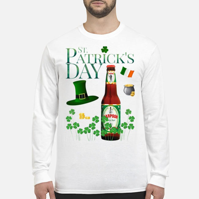 St. Patrick's Day Harpoon Celtic Ale Beer Long Sleeved T-Shirt