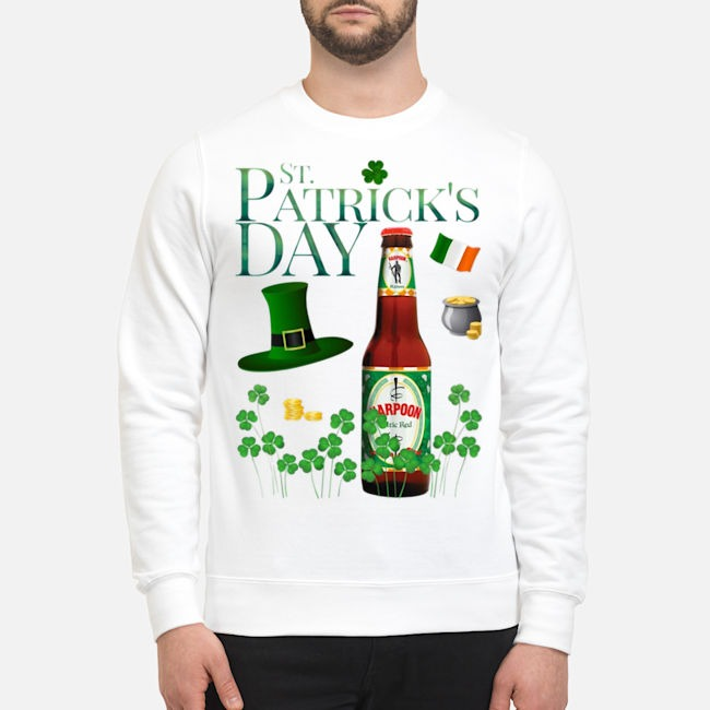 St. Patrick's Day Harpoon Celtic Ale Beer Sweater