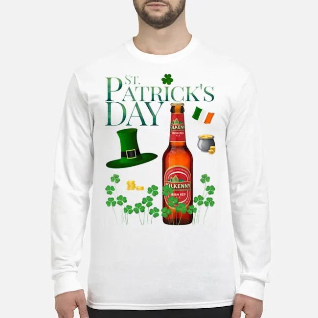 St. Patrick's Day Kilkenny Cream Ale Beer Long Sleeved T-Shirt