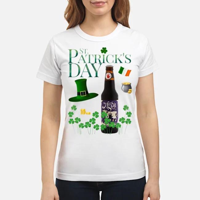 St. Patrick's Day Milk Stout Ale Beer Ladies