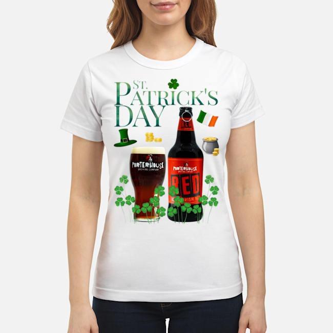St. Patrick's Day Porterhouse Red Irish Ale Beer Ladies