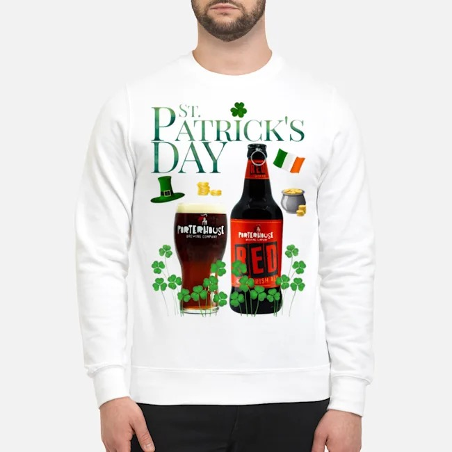 St. Patrick's Day Porterhouse Red Irish Ale Beer Sweater
