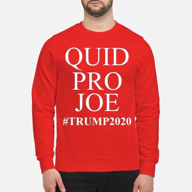 Trump Meme Sleepy Joe Biden Quid Pro Joe Sweater