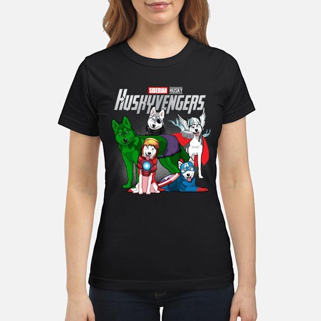 Avengers Endgame Siberian Husky Huskyvengers Ladies