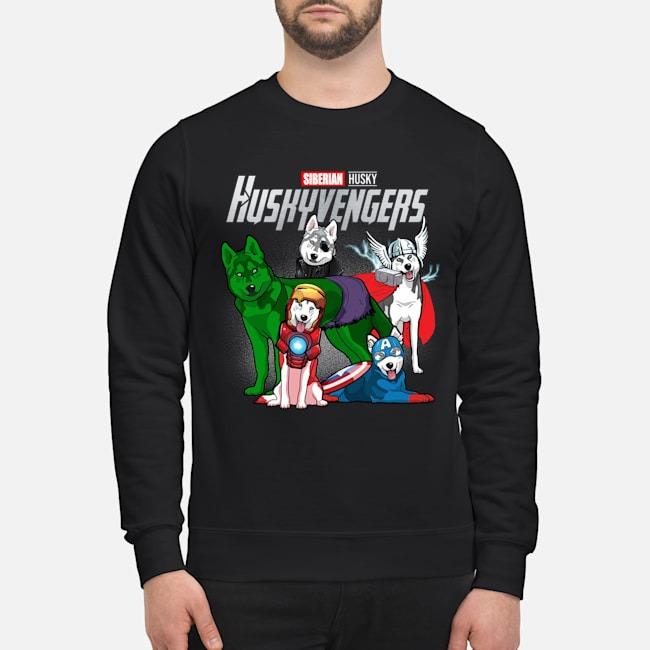 Avengers Endgame Siberian Husky Huskyvengers Sweater