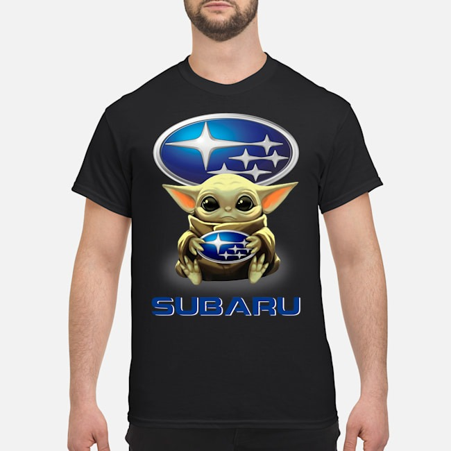 Baby Yoda And Subaru Shirt