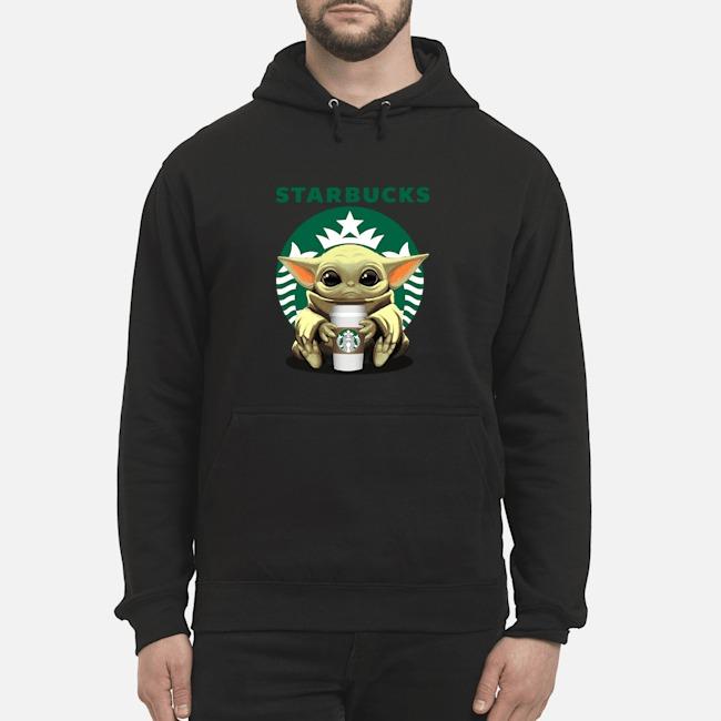 Baby Yoda Hug Starbucks Tee Hoodie