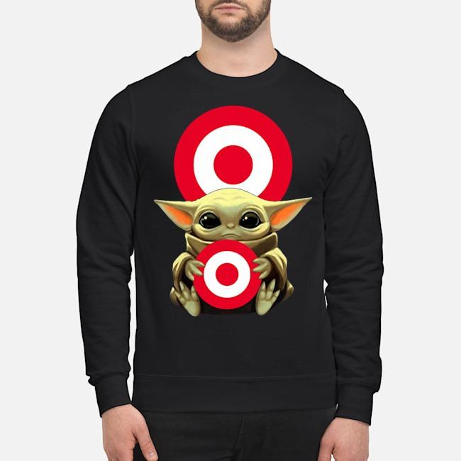 Baby Yoda Hug Target Sweater
