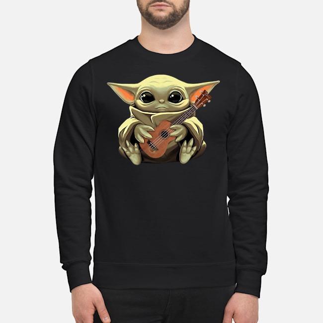 Baby Yoda Hug Ukulele Sweater