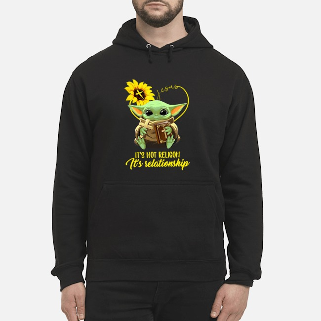 Baby Yoda Just It S Not Religion It S Relationship Shirt