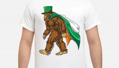 Bigfoot St. Patrick's Day 01 FINAL Shirt