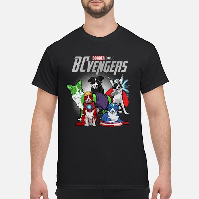 Border Collie BCvengers Marvel Avengers Shirt