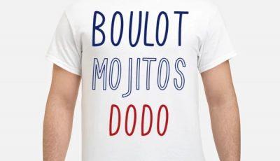 Boulot mojitos dodo shirt