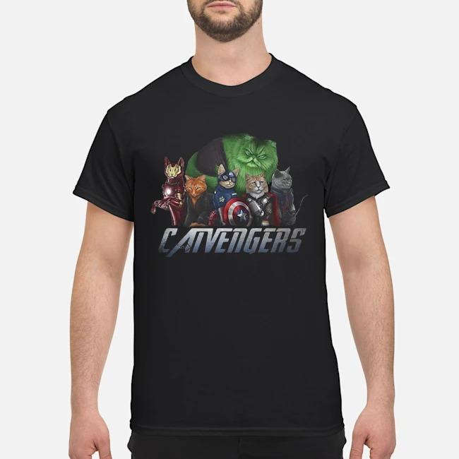 Catvengers Marvel Avengers Shirt