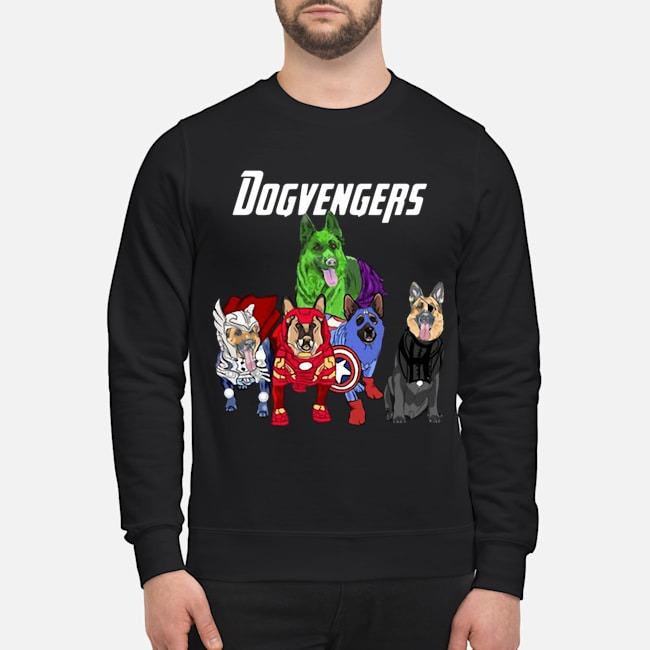 Dogvengers Frenchie Avengers German Shepherd Beauty Sweater