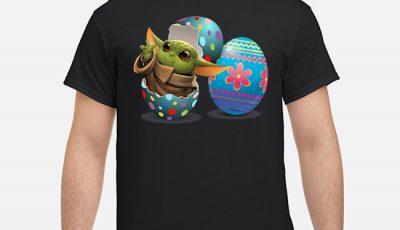 Easter Eggs Baby Yoda Shirt