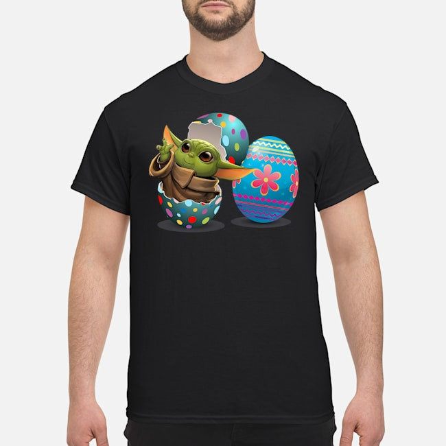 Easter Eggs Baby Yoda Shirt