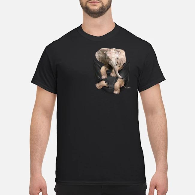 Elephant In Pocket Shirt