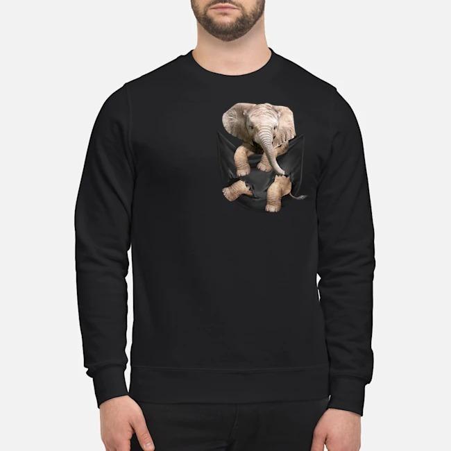 Elephant In Pocket Sweater