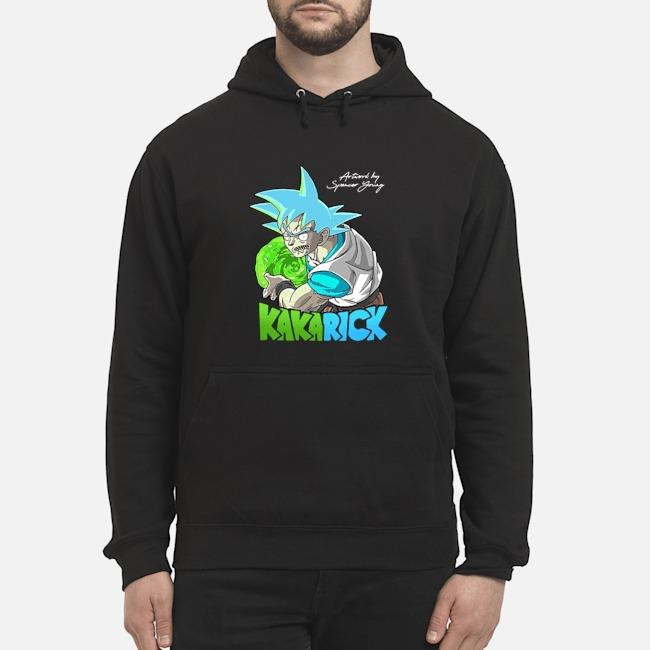 I'm Kakarick I turned myself into a saiyan Rick And Morty Hoodie