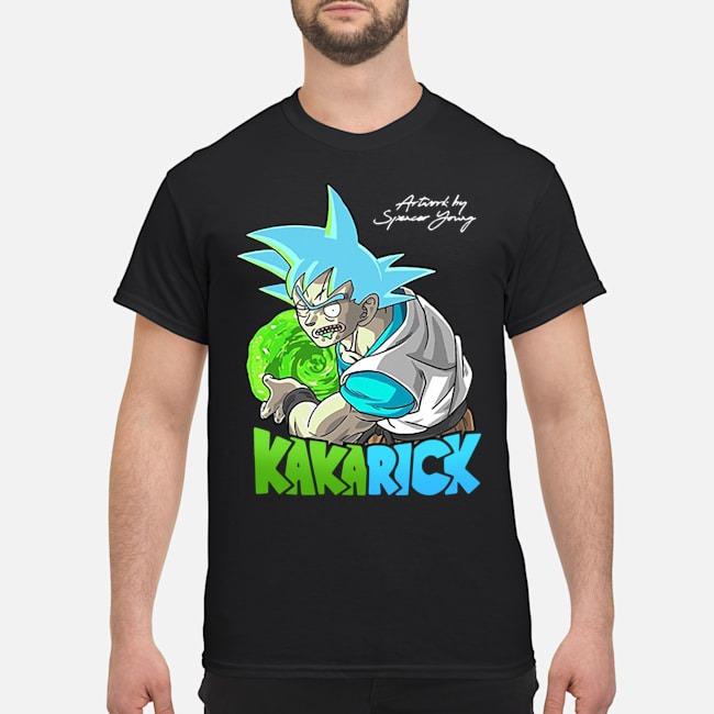 I'm Kakarick I turned myself into a saiyan Rick And Morty Shirt