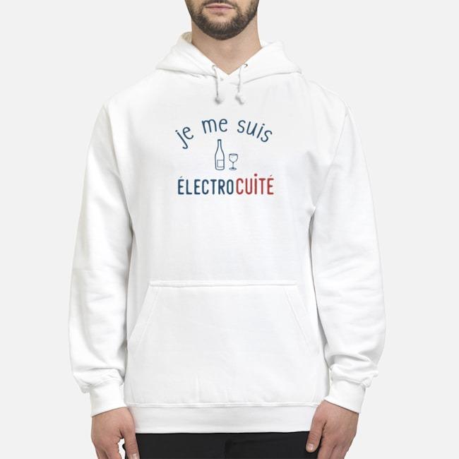 Je Me Suis Electrocuite Hoodie
