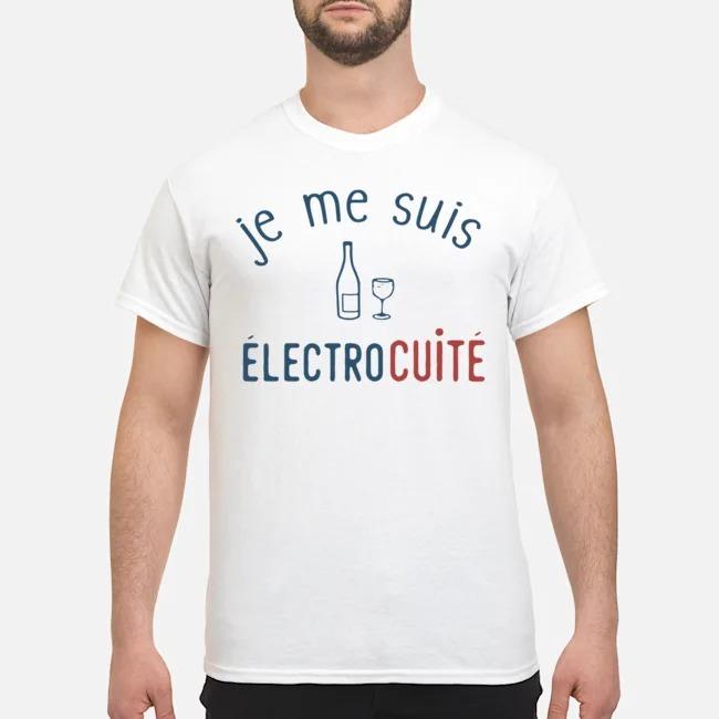 Je Me Suis Electrocuite Shirt