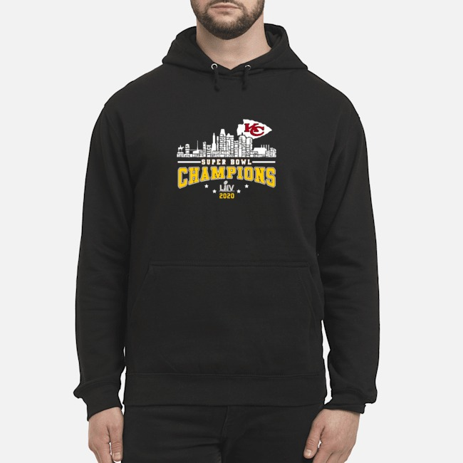 Kansas City Chiefs Player Name Super Bowl Champions 2020 Name Hoodie