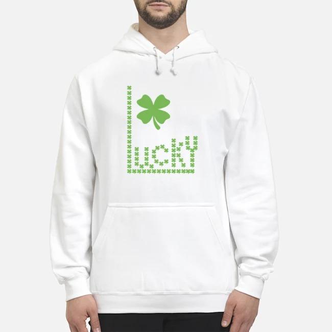 Lucky 4 Leaf Clover Hoodie