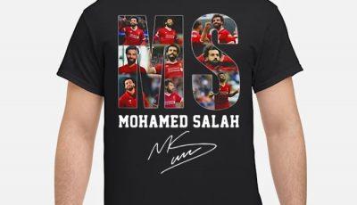 MS Mohamed Salah Signatures Shirt