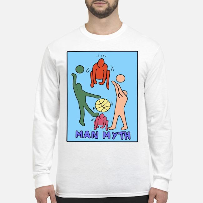 Man Myth Kawhi Leonard Long Sleeved T-Shirt