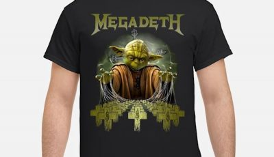 Megadeth Baby Yoda Shirt