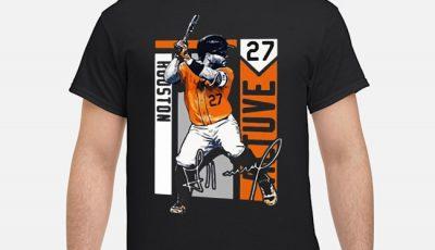 Original Jose Altuve Houston Astros Mlb Signature Shirt