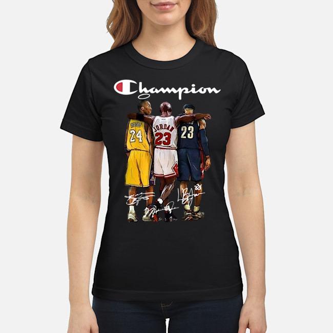 Rip Kobe Bryant Michael Jordan Lebron James Champion Signatures Ladies