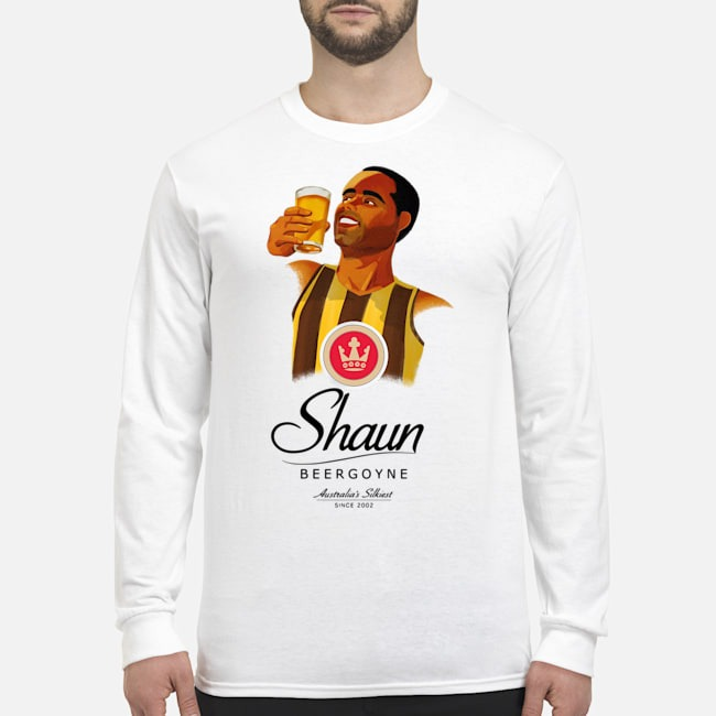Shaun Burgoyne Australia's Silkiest Sin 2020 Long Sleeved T-Shirt