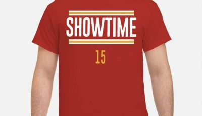 Showtime 15 Patrick Mahomes Shirt