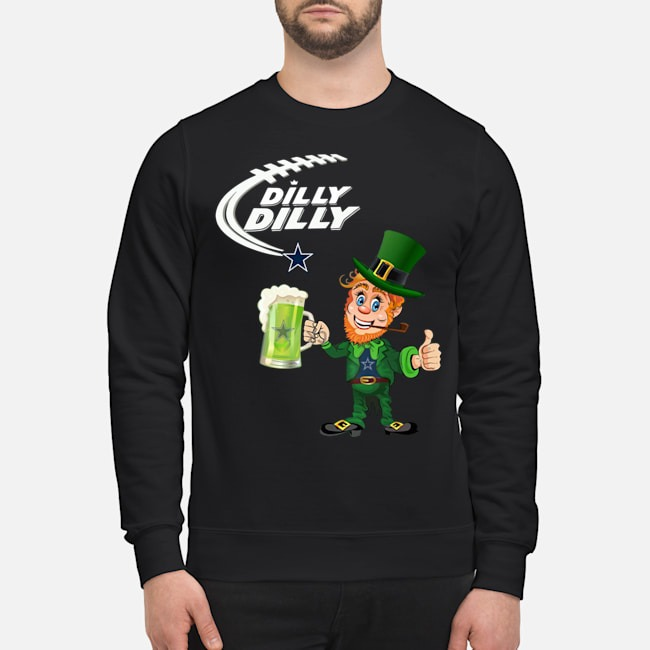 Uncle Sam Dilly Dilly Dallas Cowboys Sweater