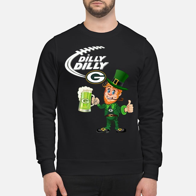 Uncle Sam Dilly Dilly Green Bay Packers Sweater