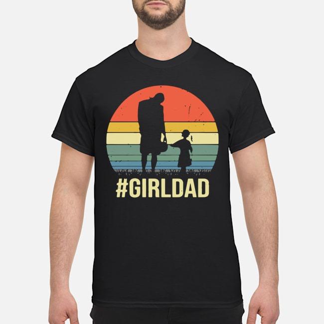 Vintage Kobe Bryant And Gianna Bryant Girl Dad Shirt