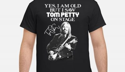 Yes I am old but I saw Tom Petty on state signature shirt